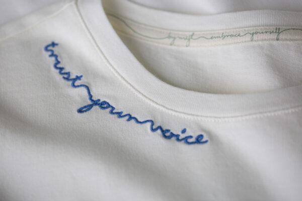 by mijl trust your voice t-shirt